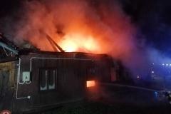 15.11.2020 | Lipnica Wielka - pożar budynku mieszkalnego