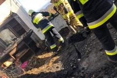 26.11.2020 | Skrzętla-Rojówka - pożar poddasza budynku mieszkalnego