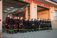 07.11.2020 | Powitanie nowego wozu strażackiego - Renault D16
