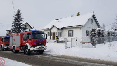 Mogilno – pożar sadzy w przewodzie kominowym
